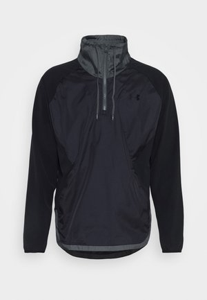 ZIP JACKET - Trainingsjacke - black