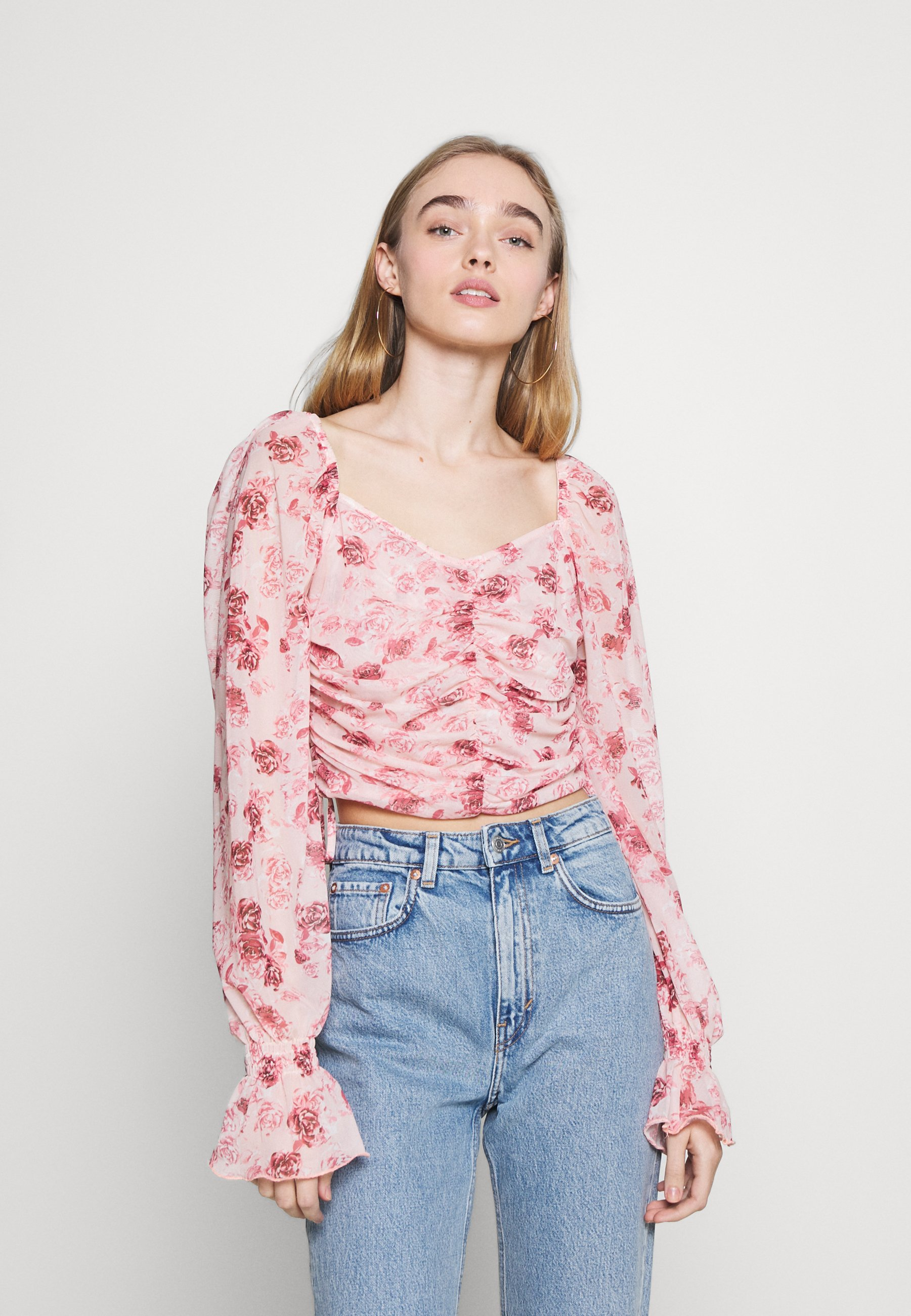 Women GATHERED - Long sleeved top