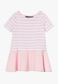 Polo Ralph Lauren - Jersey dress - white/carmel pink - 0