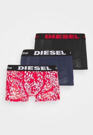DAMIEN 3 PACK - Culotte - black/blue/red/white