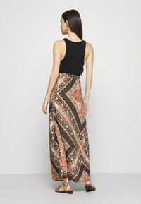 ONLY - ONLCECILIA ANCLE SKIRT WVN - Maxi skirt - hot sauce/spice scarf - 2