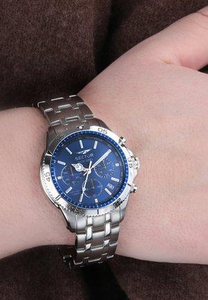 Kronograf - silber blau