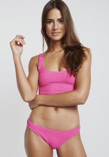 SUMMER HIGH TROPIC - Bikini bottoms - shaka pink