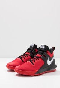 Nike Performance - AIR MAX IMPACT - Obuwie do koszykówki - university red/white/black - 2