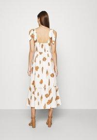 Farm Rio - LEOPARD SHELL MIDI DRESS - Shirt dress - multi - 2