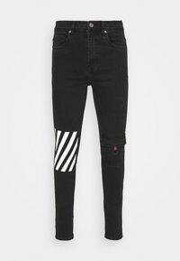 274 - BENSON JEAN - Jeans slim fit - black - 4