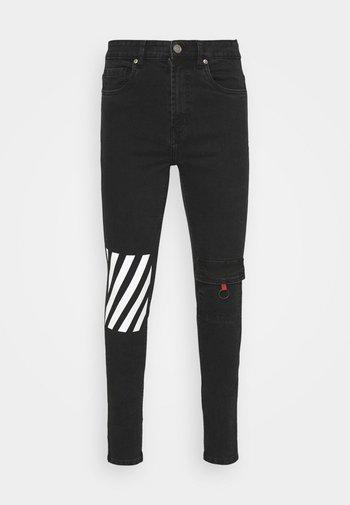 BENSON JEAN - Slim fit jeans - black