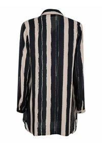 Laura Kent - Button-down blouse - stein,schwarz,wollweiß - 4