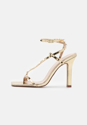 LURIANE - Korolliset sandaalit - gold metallic