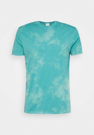 TIE OZONE WASH - T-Shirt print - blues