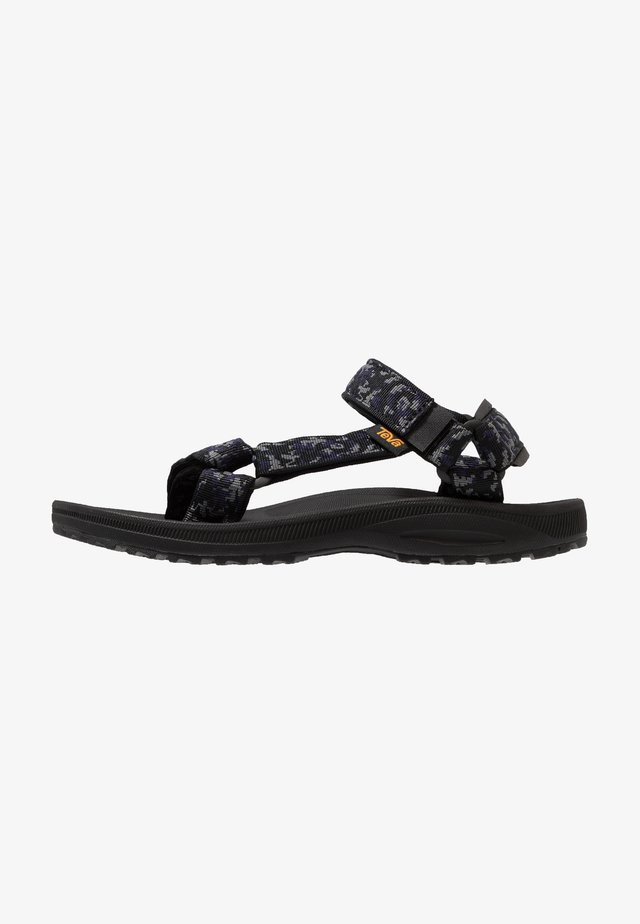 WINSTED         - Walking sandals - bramble black