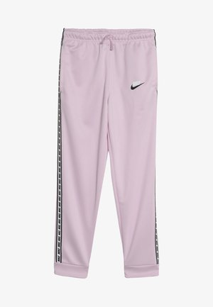 REPEAT PANT POLY - Tracksuit bottoms - pink foam/white