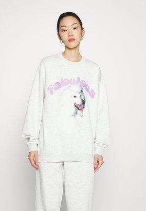 FABULOUS - Sweatshirt - grey marl