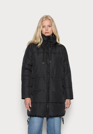 TURTLE - Płaszcz zimowy - black