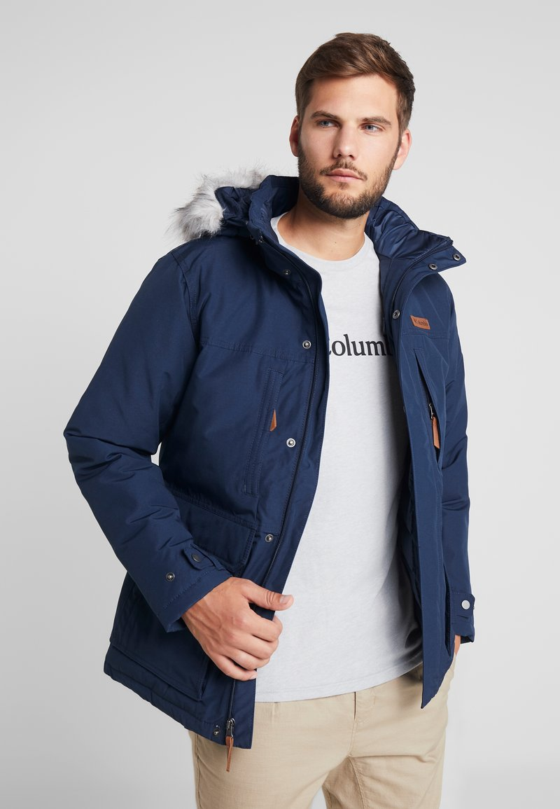 Columbia - MARQUAM PEAK JACKET - Veste d'hiver - collegiate navy