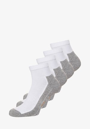 SPORT QUARTER BOX 4 PACK - Sports socks - white