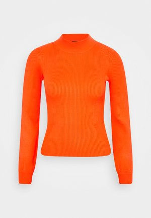 HELENA - Strickpullover - groovy orange