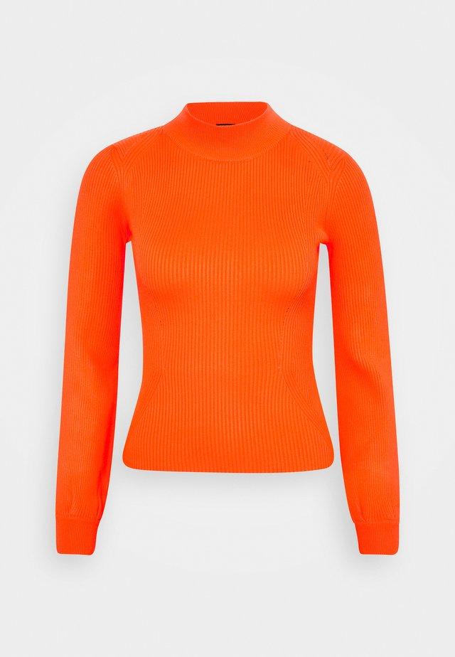 HELENA - Jumper - groovy orange
