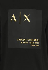 Armani Exchange - Sudadera - black - 2