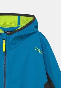 CMP - FIX HOOD UNISEX - Soft shell jacket - regata - 2
