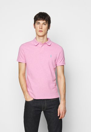 SHORT SLEEVE - Polo - hampton pink heat