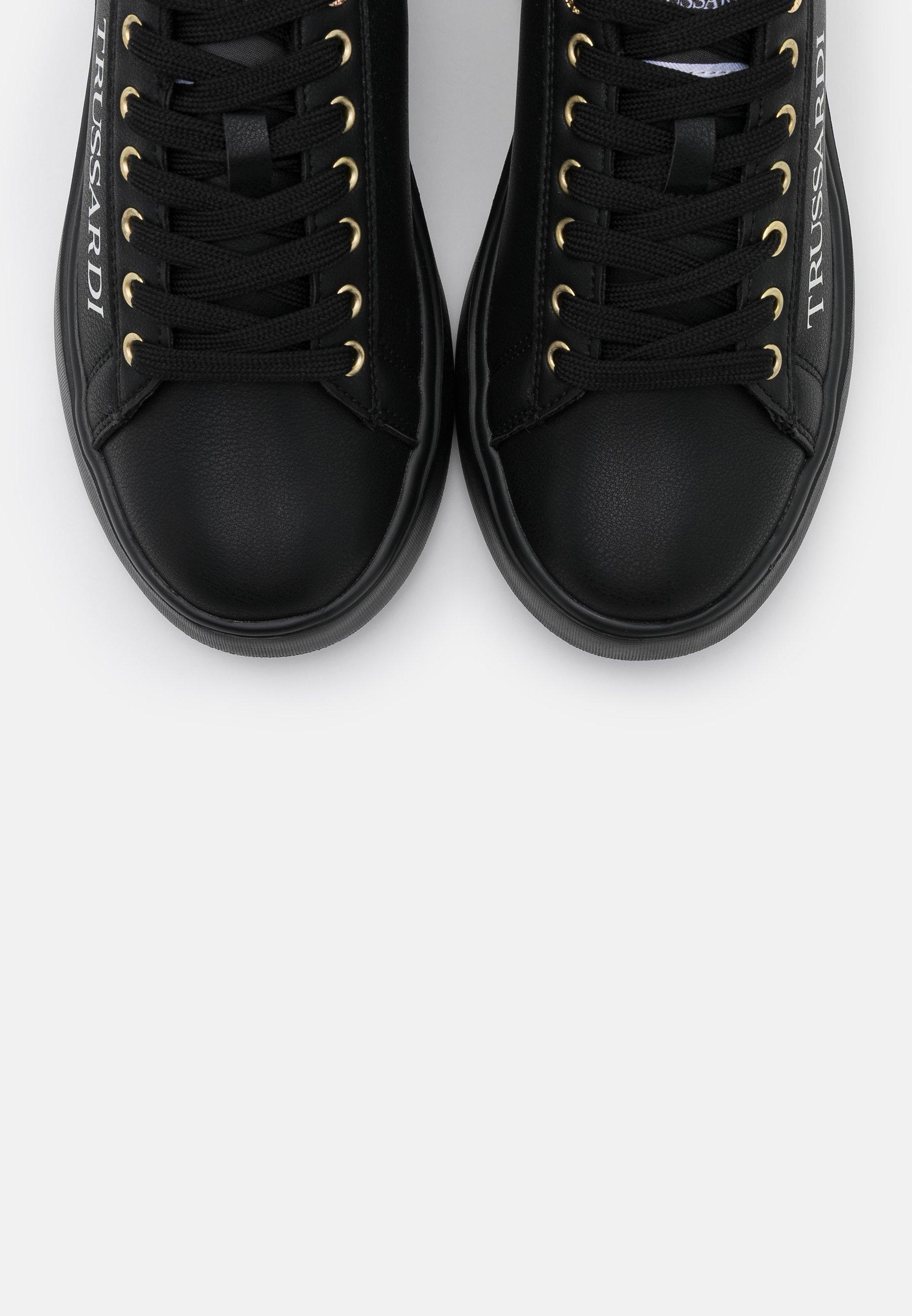 Trussardi YRIAS LOGO PRINT Sneaker low grey/black/schwarz