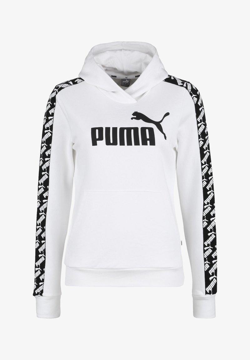 Puma - Hoodie - white