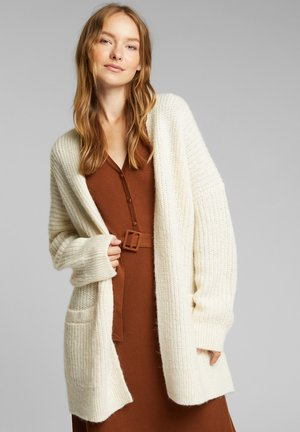 MIT WOLLE  - Cardigan - cream beige