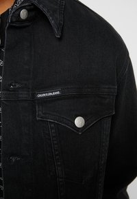 Calvin Klein Jeans - FOUNDATION SLIM JACKET - Denim jacket - denim - 5