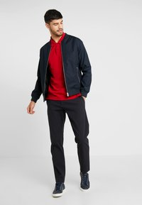 DOCKERS - SMART FLEX TAPERED - Trousers - navy - 1