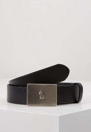 PONY BUCKLE-CASUAL - Cinturón - black