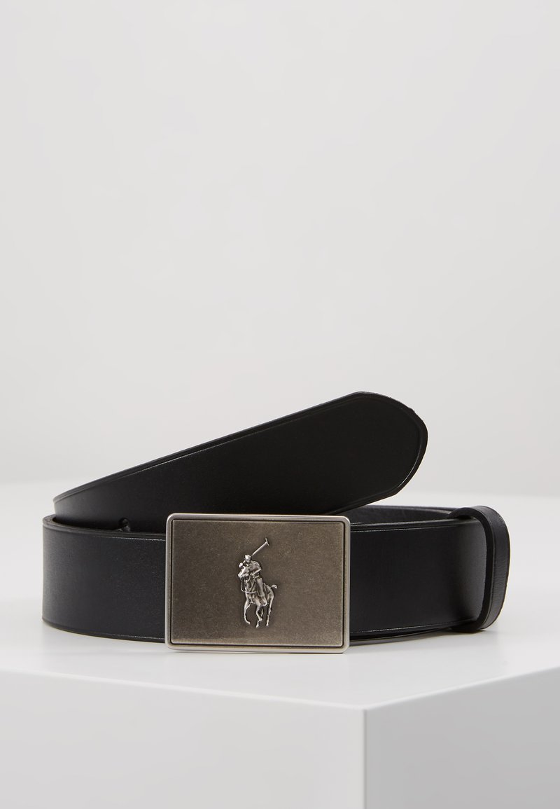 Polo Ralph Lauren - PONY BUCKLE-CASUAL - Pásek - black