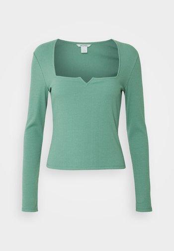 NONNA  - Top sdlouhým rukávem - green