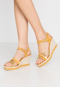 Marco Tozzi - Platform sandals - yellow - 0