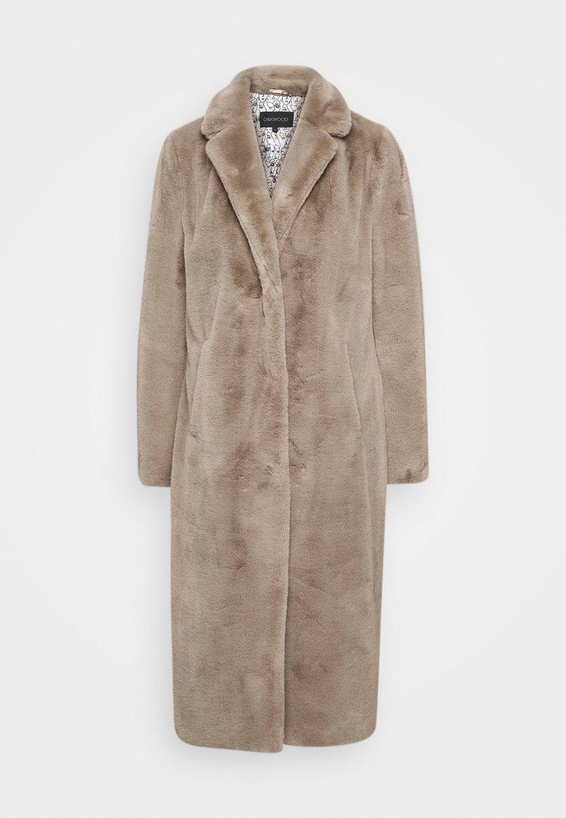 Oakwood - SHADOW - Classic coat - dark beige