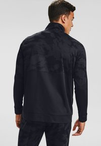 Under Armour - SPORTSTYLE PQE CAMO TK JT - Training jacket - black - 2