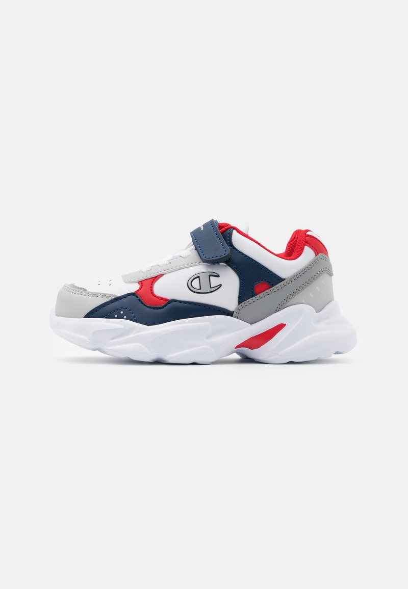 Champion - LOW CUT SHOE PHILLY UNISEX - Obuwie treningowe - white/new navy/red
