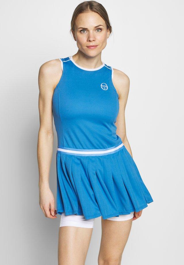 PLIAGE DRESS - Abbigliamento sportivo - campanula/white