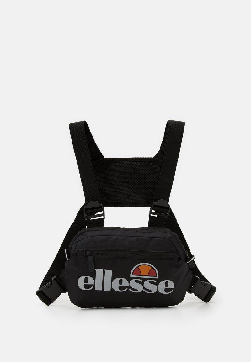 Ellesse - MAGGU CHEST BAG - Vyölaukku - black
