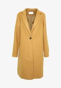 Vila - VICOOLEY NEW COAT - Zimní kabát - dusty camel - 3