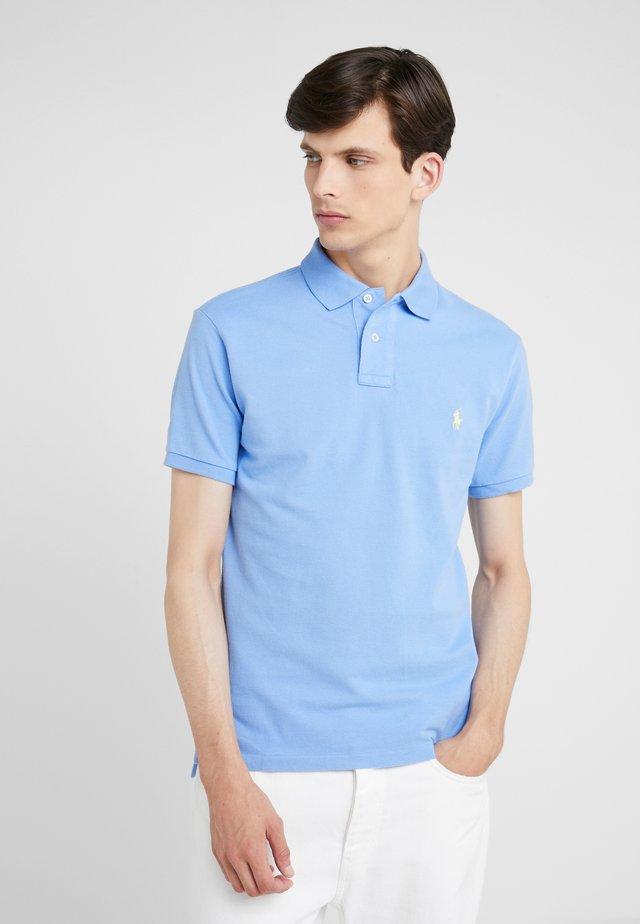 SLIM FIT MODEL - Polo - cabana blue