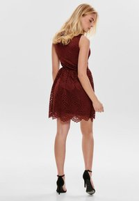 ONLY - ONLEDITH DRESS - Cocktail dress / Party dress - red - 2