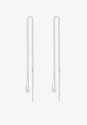 PULL THROUGH - Earrings - silber