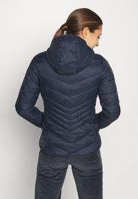 CMP - WOMAN JACKET FIX HOOD - Winter jacket - black/blue - 2