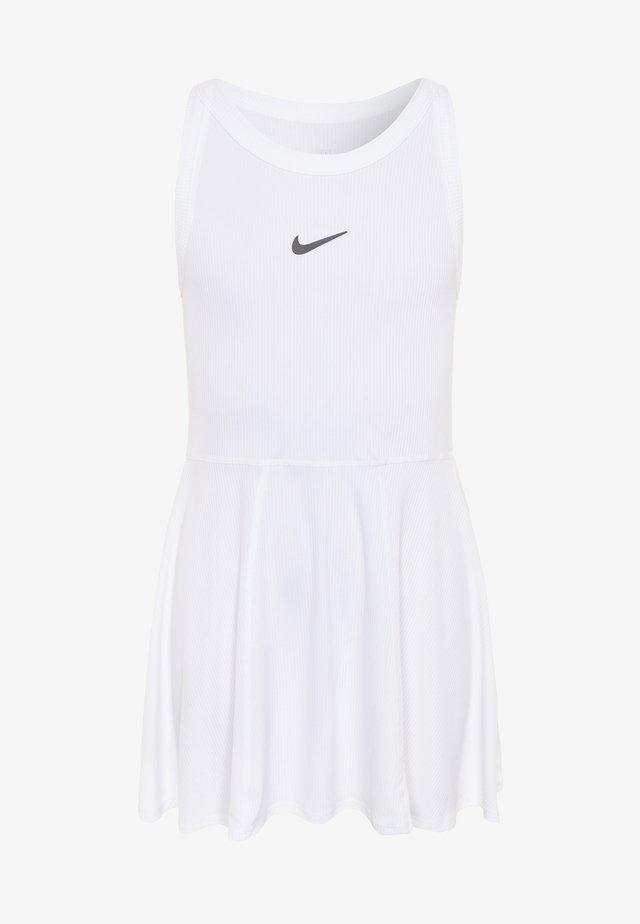 DRY DRESS - Sportovní šaty - white/black