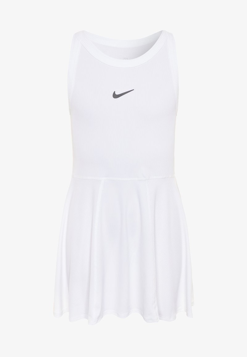 Nike Performance - DRY DRESS - Sports dress - white/black