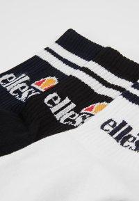 Ellesse - 3 PACK  - Ponožky - navy/white/black - 2