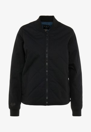COSMIC BOMBER - Outdoorová bunda - black