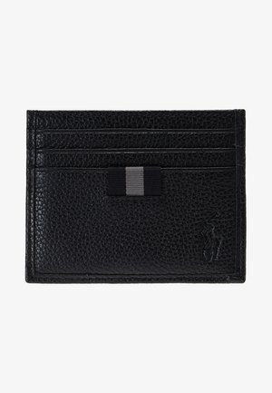 LOGO CARD CASE - Pouzdro na vizitky - black