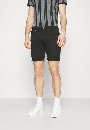 JJIRICK JJORIGINA - Denim shorts - black